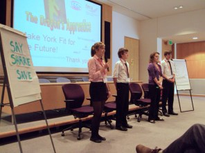 Pitching for business - Dragon's Apprentice.